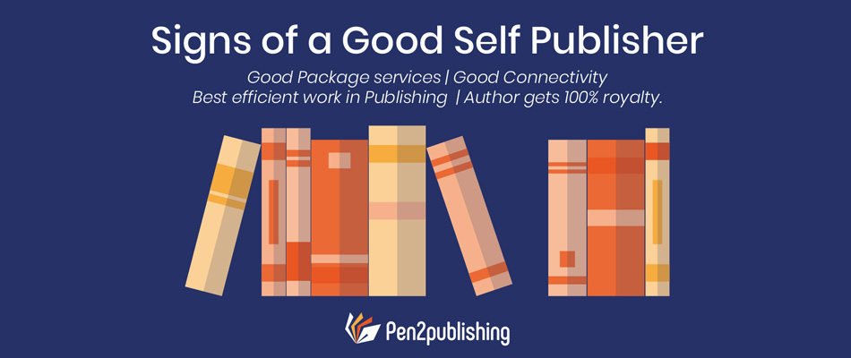 sign of good self publisher