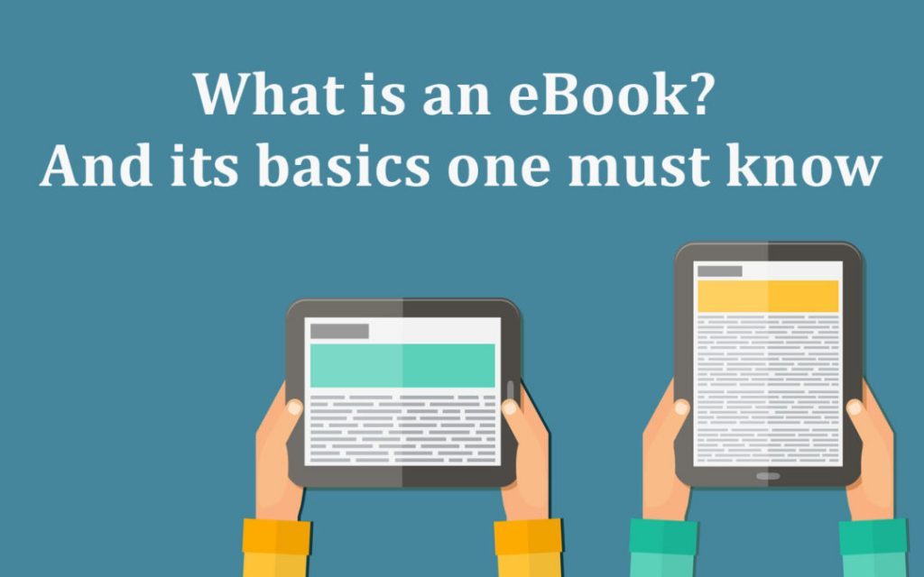 ebook basics one must know
