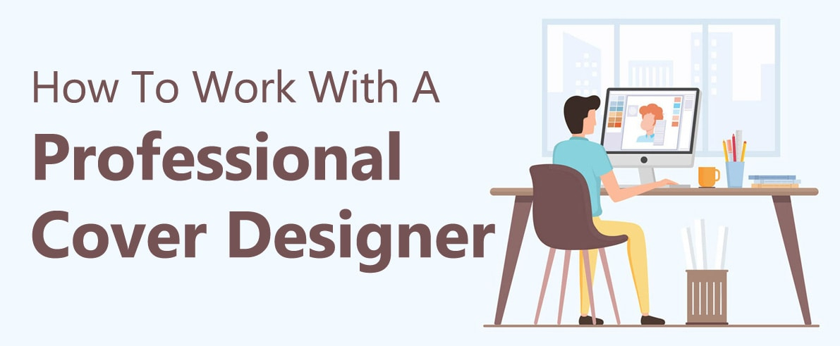 work with professional cover designer
