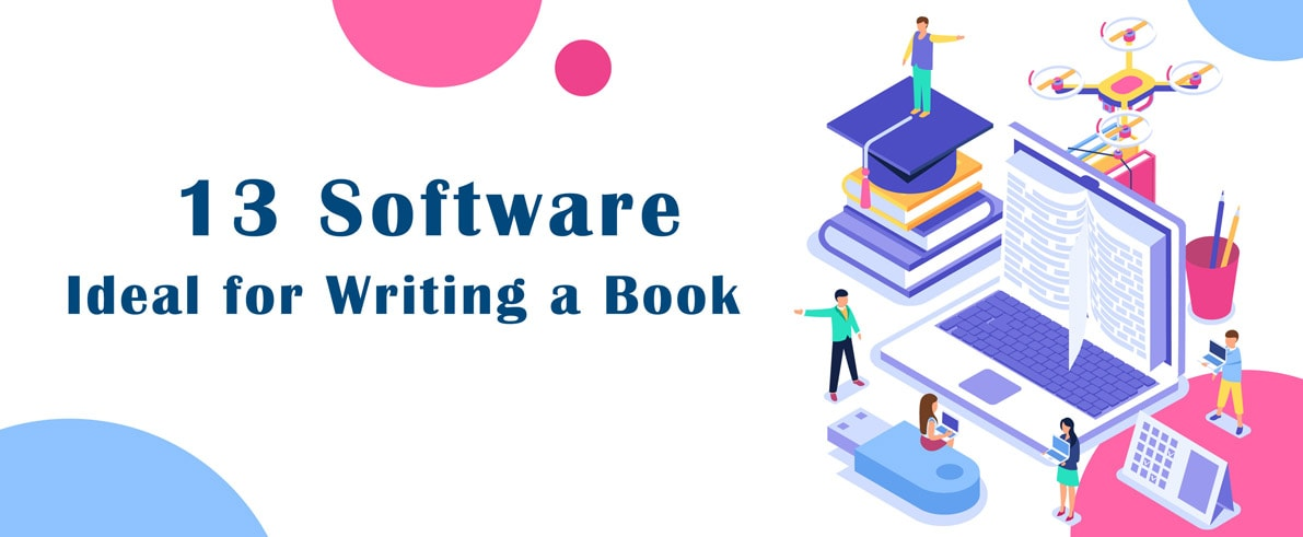 software ideal for writing book cover