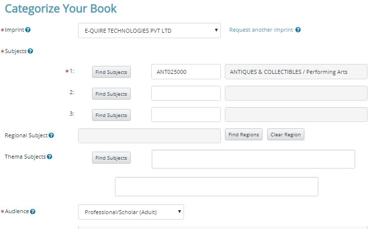 How to Upload your Print/ Ebook to Ingramspark 2