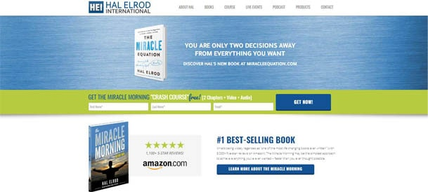 Hal Elrod website