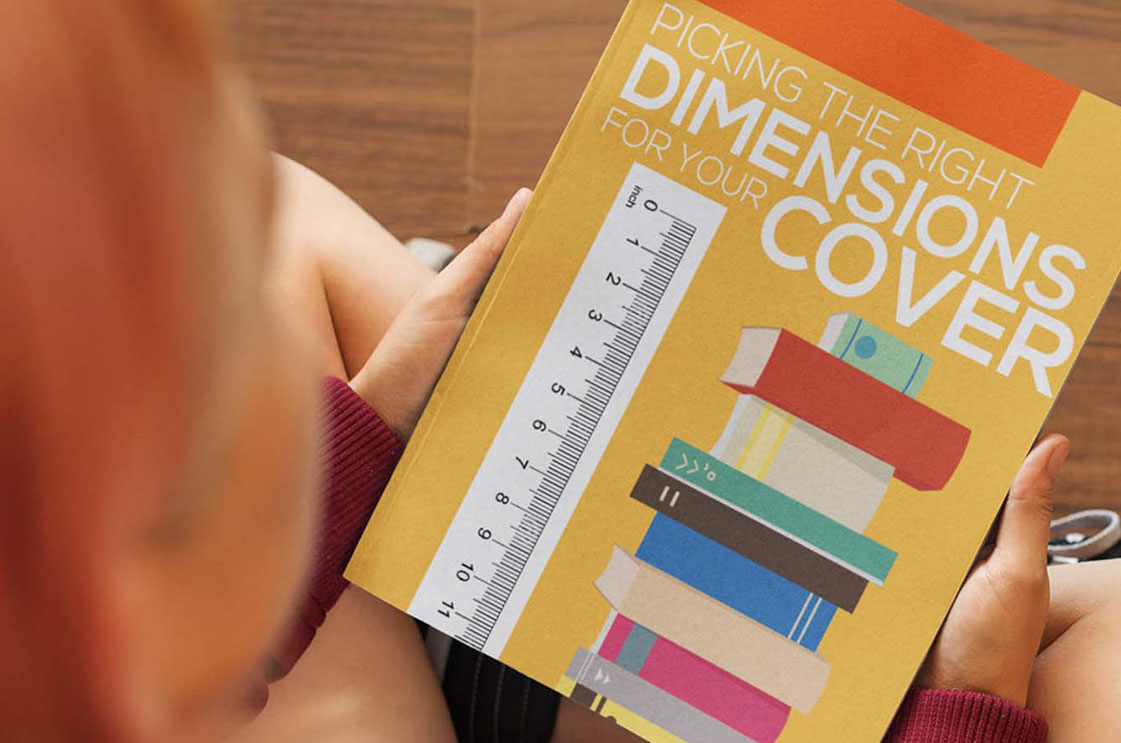 right dimensions of book