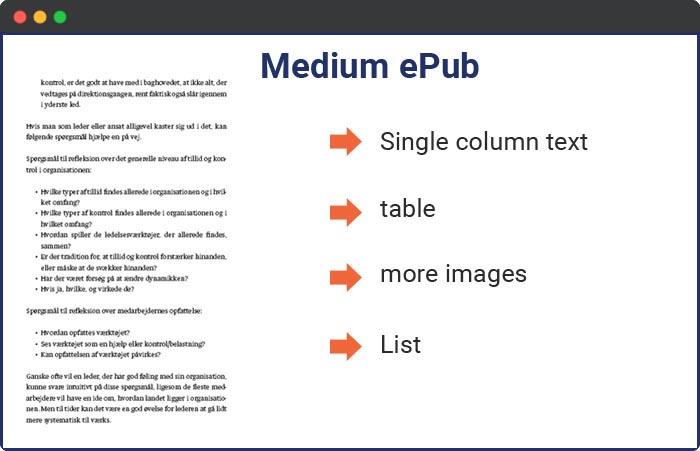 medium epub