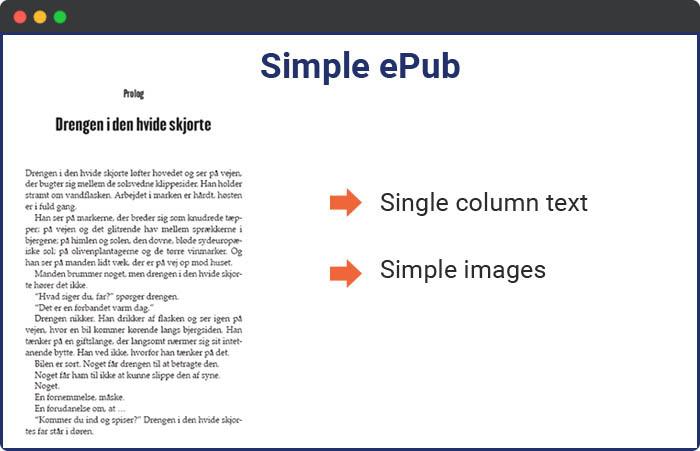 simple epub
